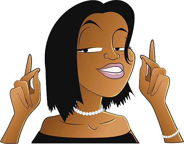 Best Woman Snapping Fingers Illustrations, Royalty-Free ...