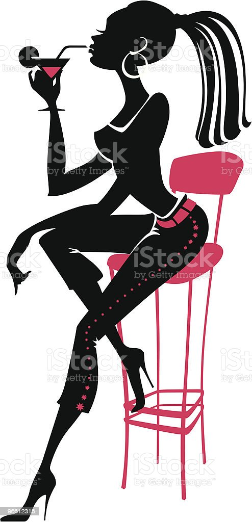 Party Girl royalty-free party girl stock vector art & more images of beautiful people