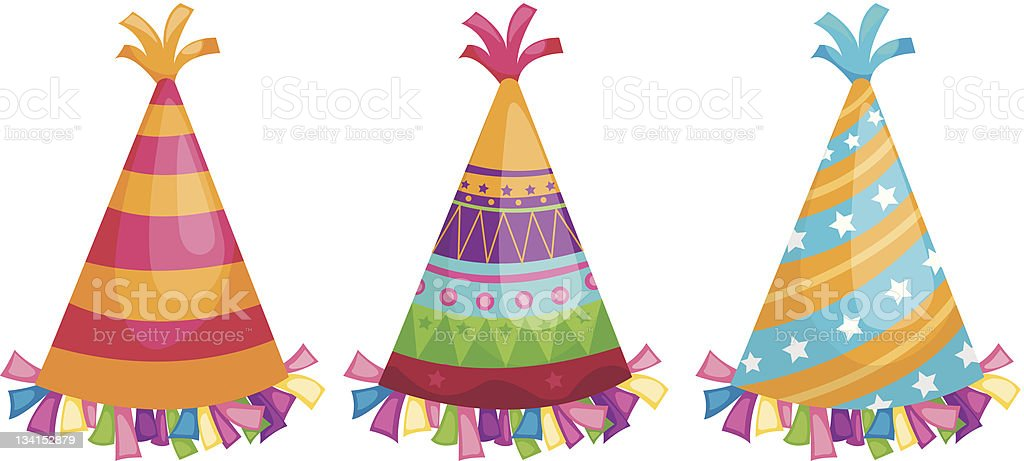 Party hat royalty-free party hat stock vector art & more images of birthday
