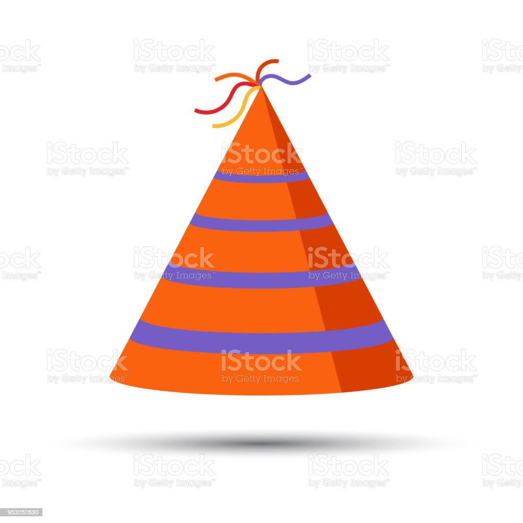 Party Hat Cone Capt Accessory Symbol Of The Holiday Birthday Vector