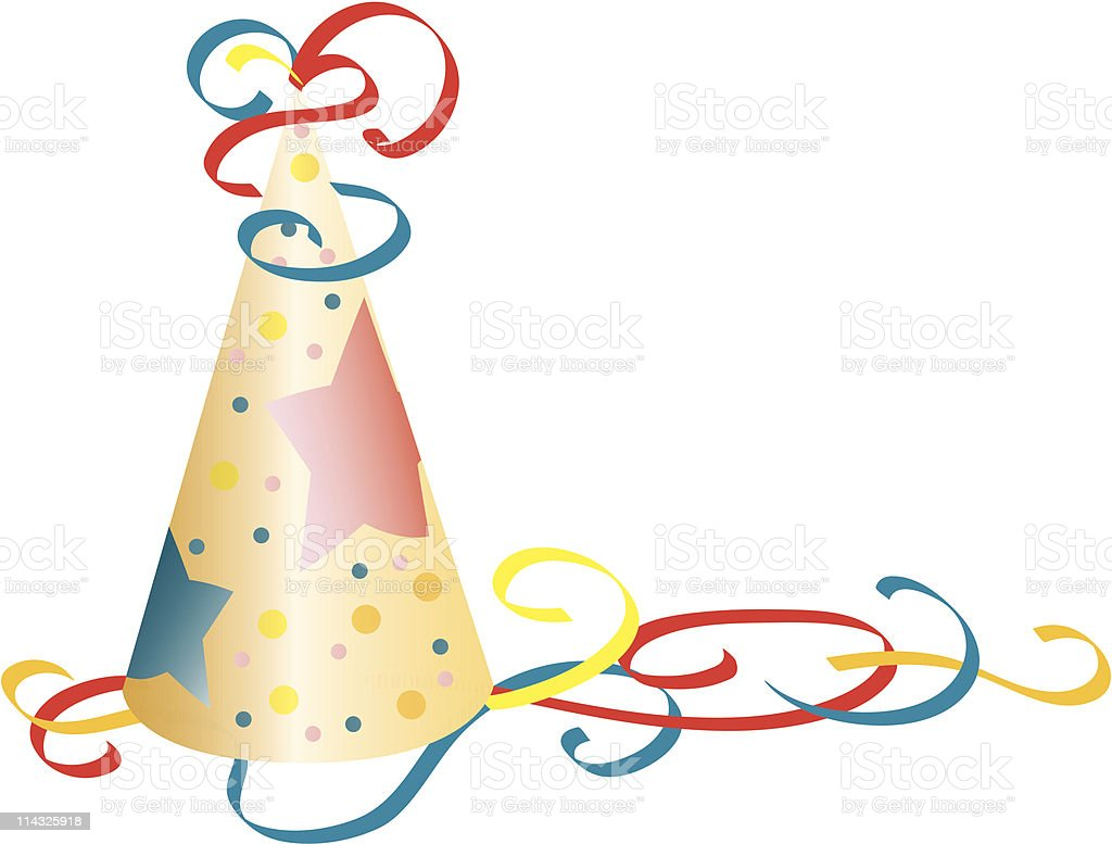 Party Hat royalty-free stock vector art