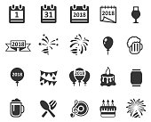 Party icon set , vector illustration