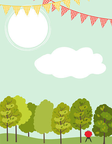 Party In The Park Invitation Template