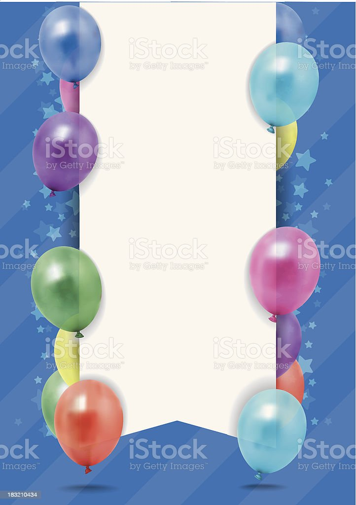 party invite royalty-free party invite stock vector art & more images of balloon