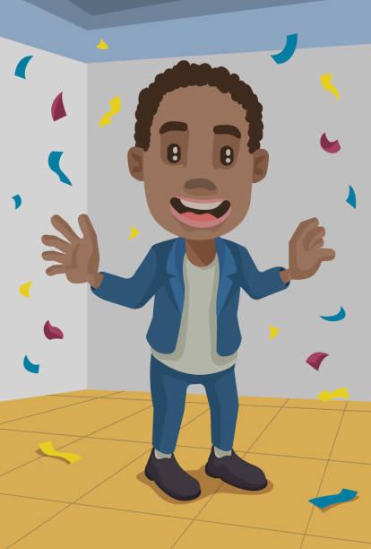 Party Kiddo vector art illustration