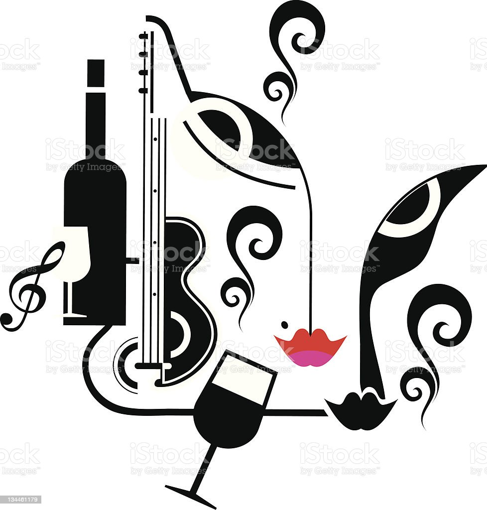 Party, music, drinks royalty-free party music drinks stock vector art & more images of 20th century