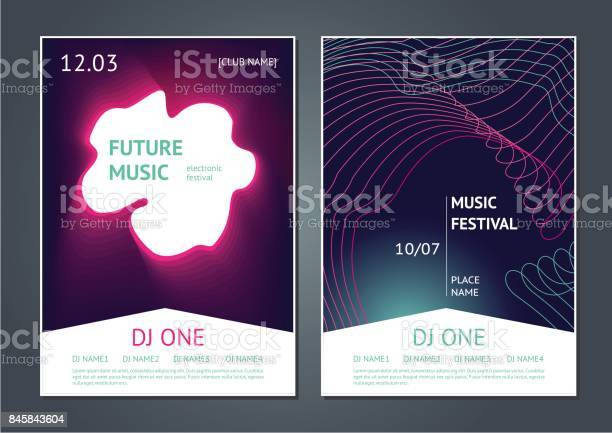 Party music posters design future electronic sound modern art style vector id845843604?b=1&k=6&m=845843604&s=612x612&h=p64iiy8ctb1 8vmje6tc dfr813v3bwr ue13srejp4=
