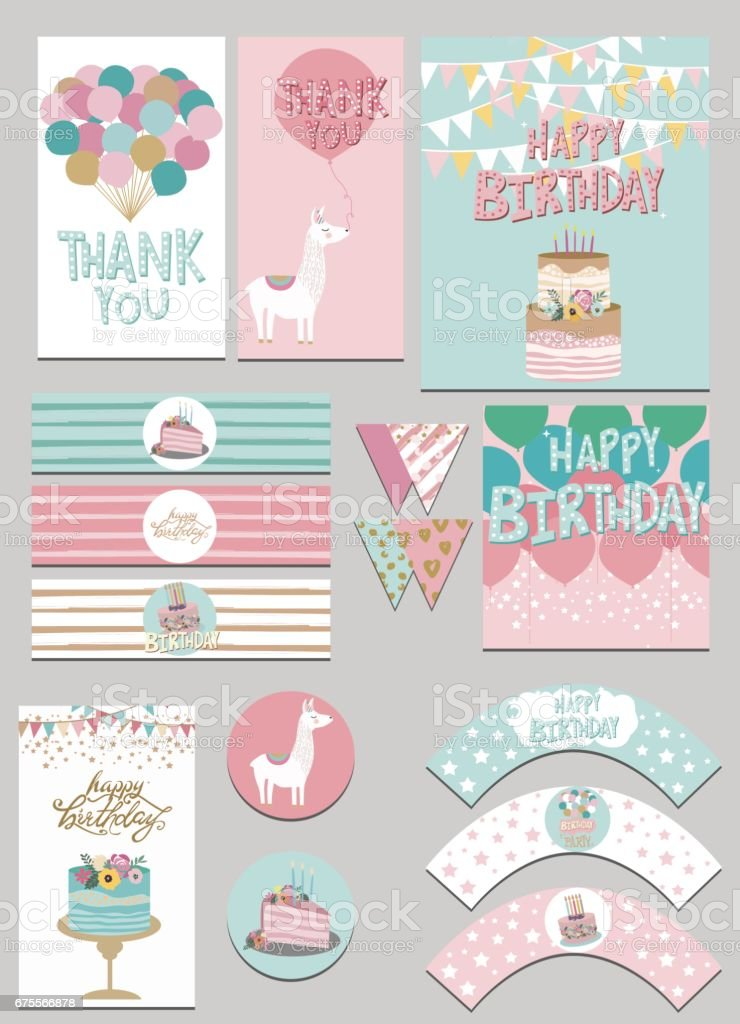 party package vector art illustration