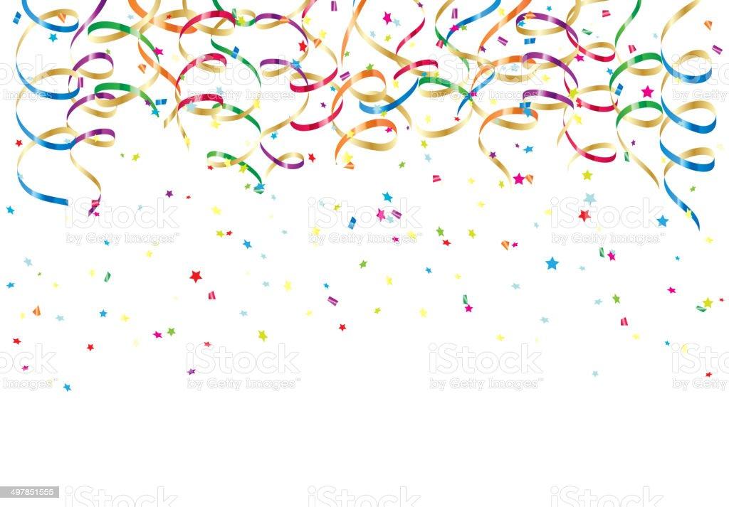F te et confettis et cotillons vecteurs libres de droits et plus d 39 images vectorielles de - Image cotillons fete ...