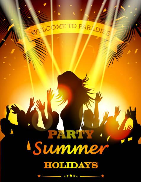 Fête les vacances d'été - Illustration vectorielle