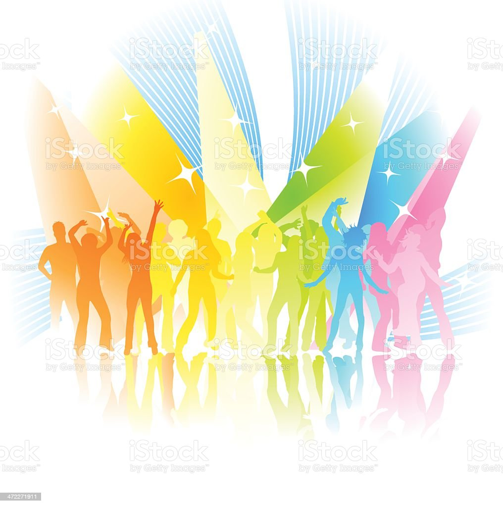Party time generation! royalty-free stock vector art