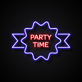 Party Time Neon Style, Design Elements