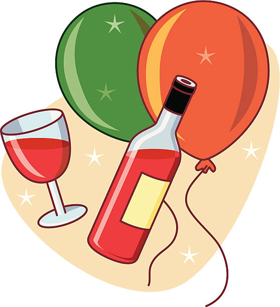 party time - russelltatedotcom stock illustrations