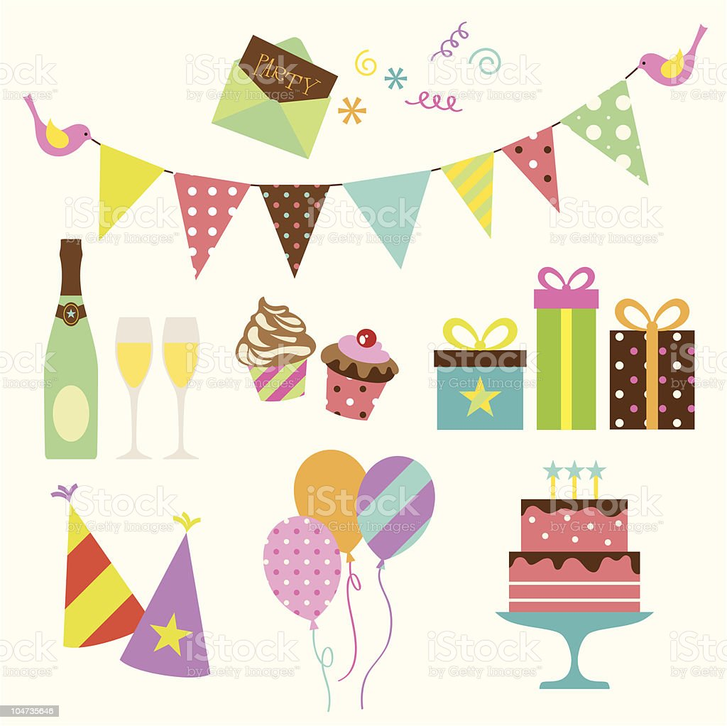 Party vector art illustration