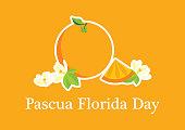Pascua Florida Day vector