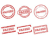 Passed stamps