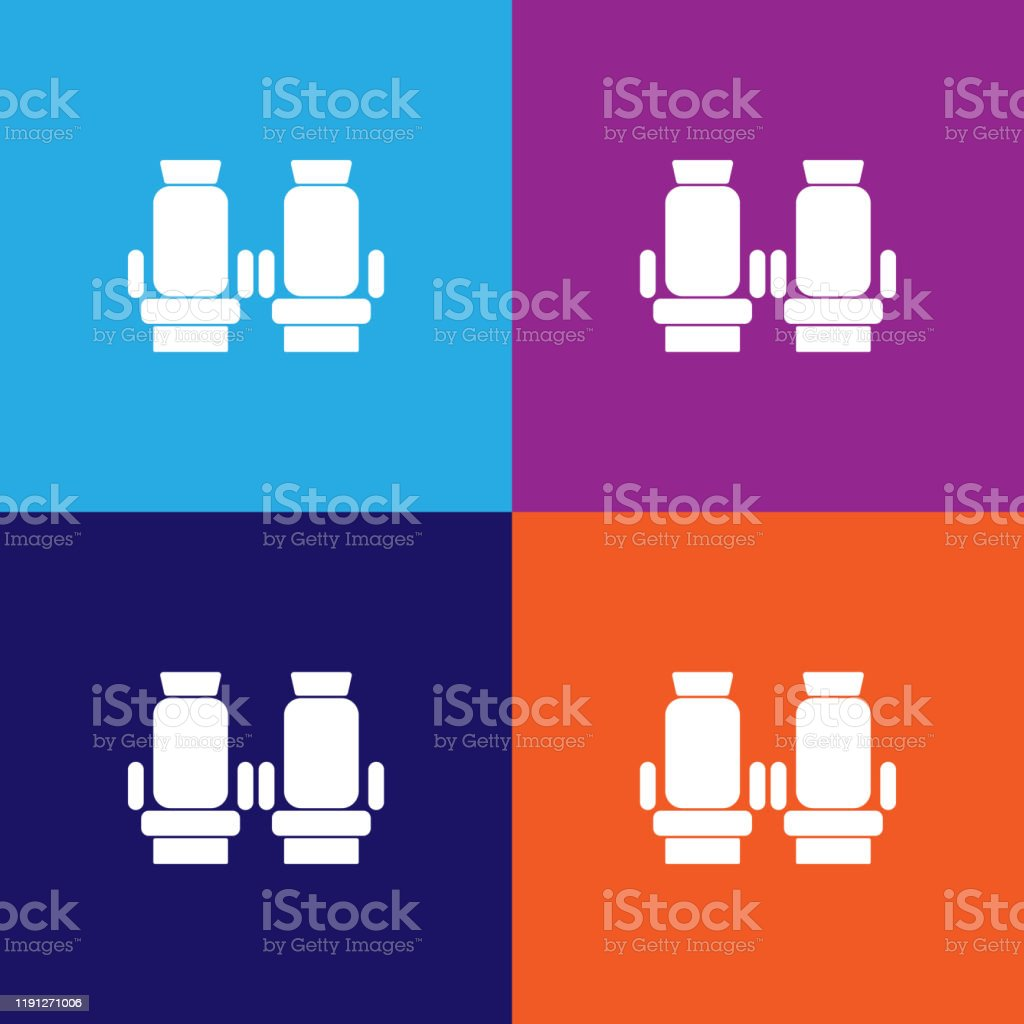 Passenger Seats In The Plane Icon Element Of Travel Icon For Mobile Concept And Web Apps Detailed Passenger Seats In The Plane Icon Can Be Used For Web And Mobile Stock Illustration