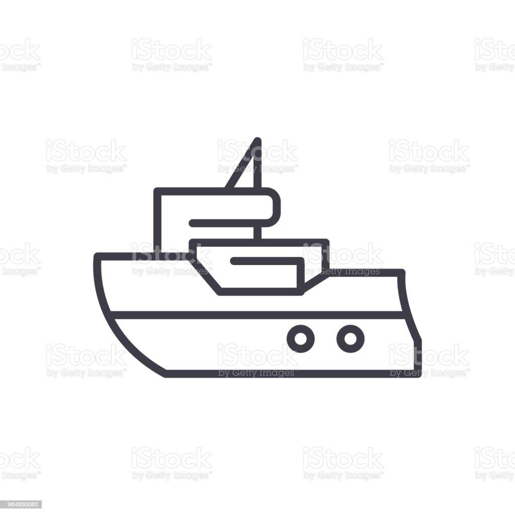 Passenger ship black icon concept. Passenger ship flat  vector symbol, sign, illustration. royalty-free passenger ship black icon concept passenger ship flat vector symbol sign illustration stock vector art & more images of air vehicle
