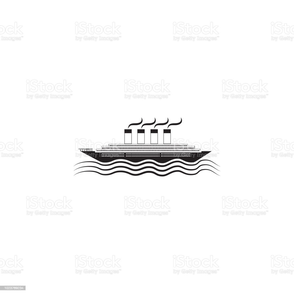 Passenger Ship Icon Element Of Ship Illustration Premium Quality