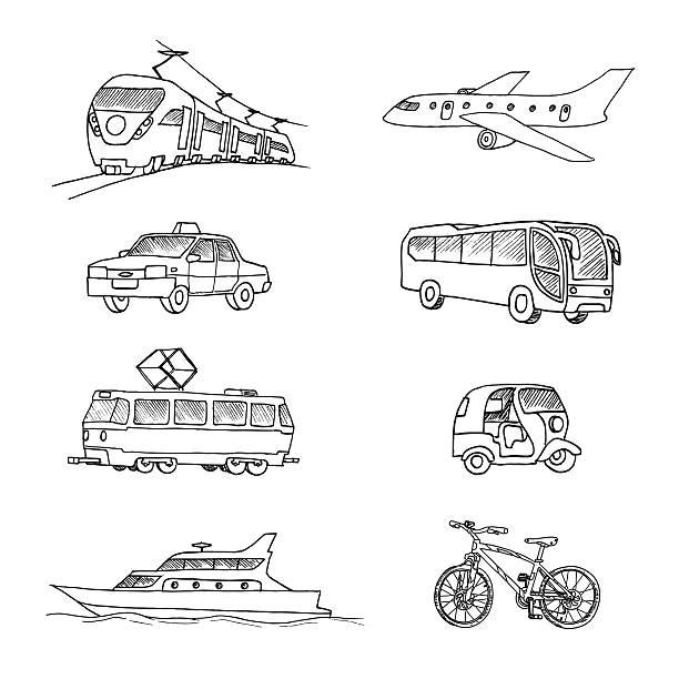 旅客輸送ます。 - バス点のイラスト素材/クリップアート素材/マンガ素材/アイコン素材