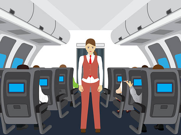 Royalty Free Airplane Seat Clip Art Vector Images