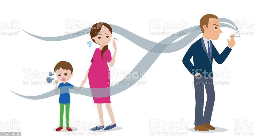 Royalty Free Asthma Child Clip Art, Vector Images
