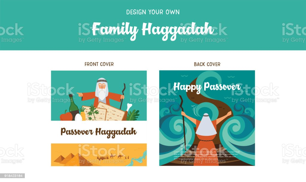 Passover Haggadah Design Template Haggadah Book Covers The Story Of