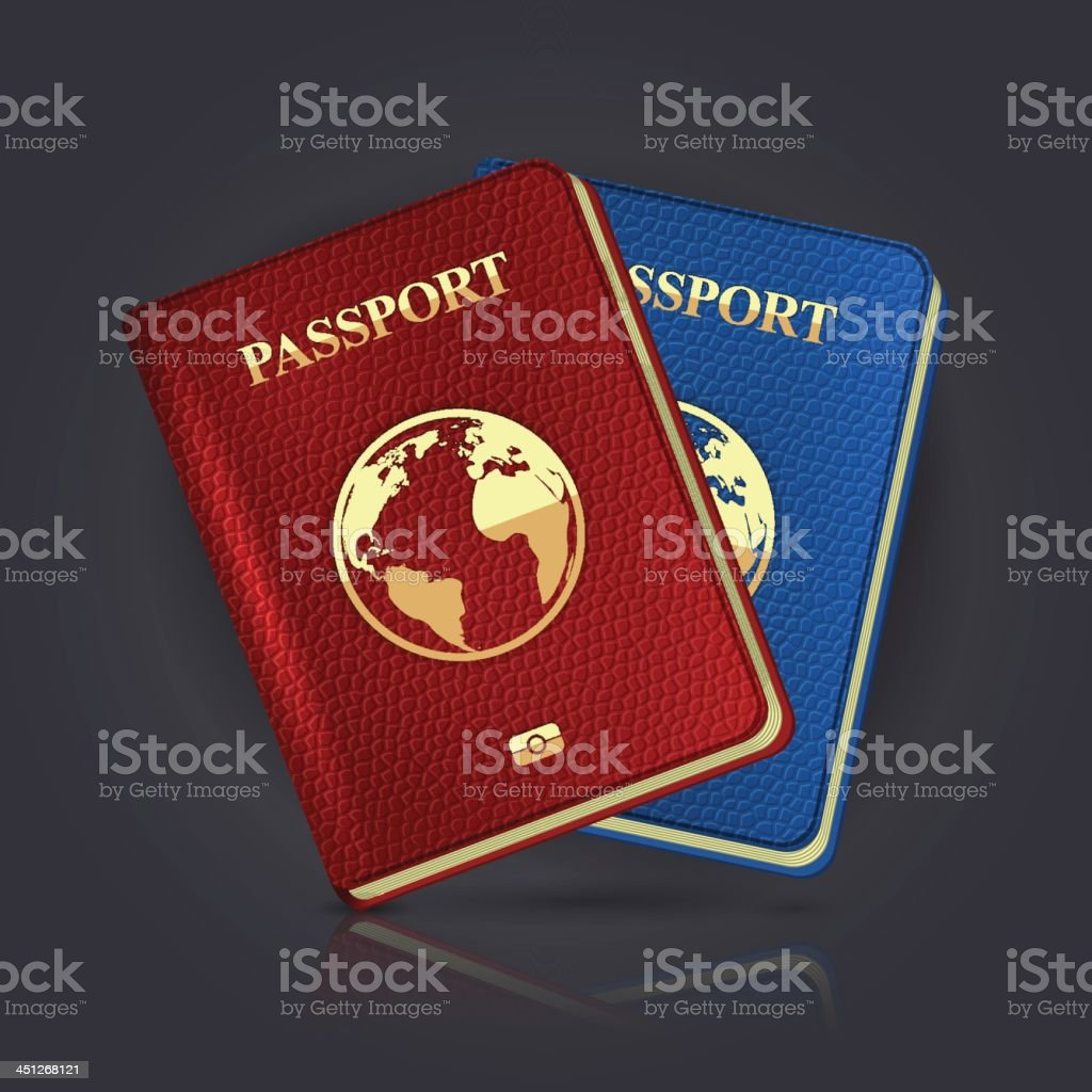 Passport royalty-free passport stock vector art & more images of art