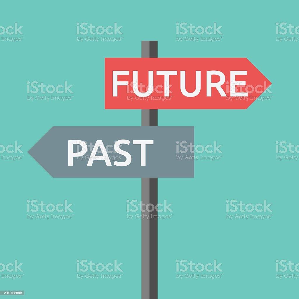 過去と未来のサイン ロイヤリティフリー過去と未来のサイン - 年金のベクターアート素材や画像を多数ご用意
