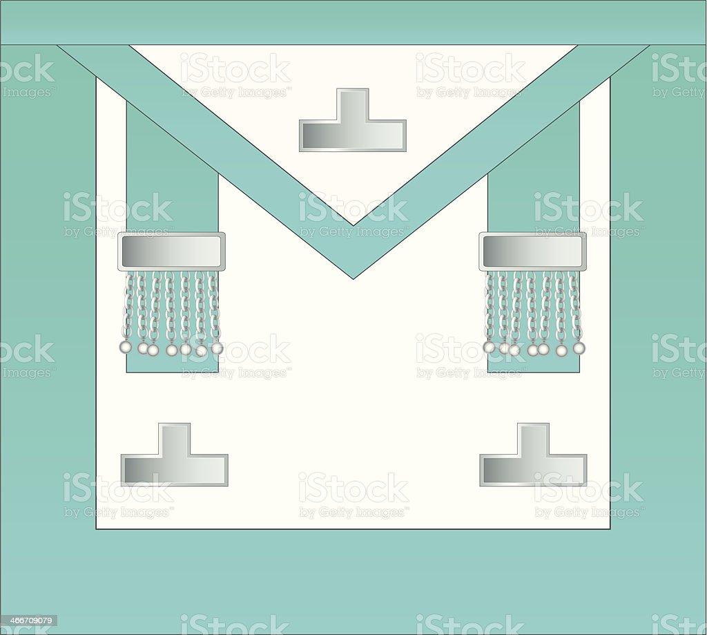 Past Master Masonic Apron royalty-free past master masonic apron stock vector art & more images of apron