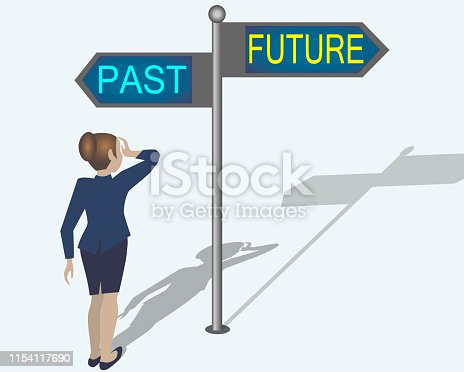 Past present and future.Looking At Destiny, Fate And Opportunity.