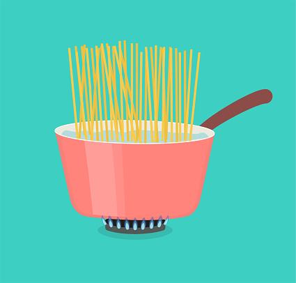 Pasta Cooking Pot concept