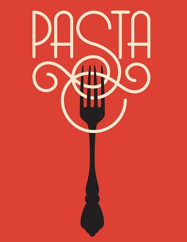 Pasta Vector Design Stock Illustration - Download Image Now