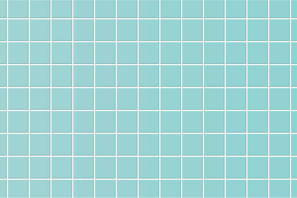 pastel blue floor tile. texture illustration vector. pastel blue floor tile. texture illustration vector. bathroom backgrounds stock illustrations