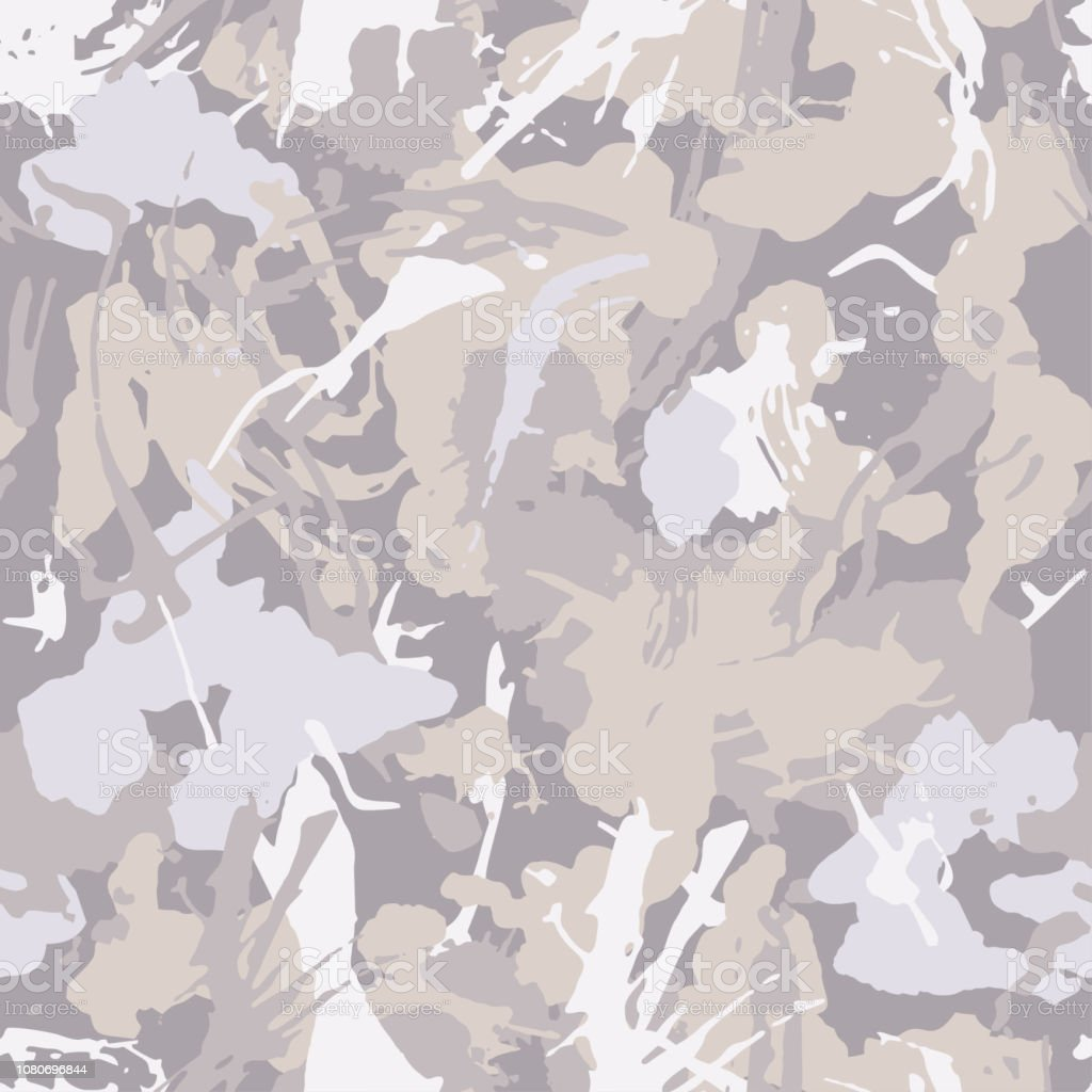 Pastel Camouflage With Strokes And Splashes Shape Seamless Texture ...