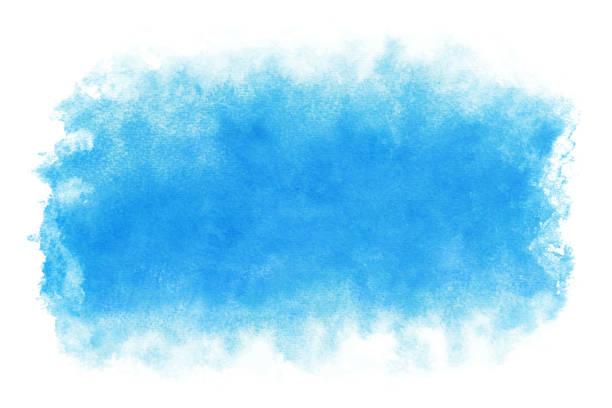 パステルカラー夏青水抽象または自然な水彩画の背景 - 空点のイラスト素材/クリップアート素材/マンガ素材/アイコン素材