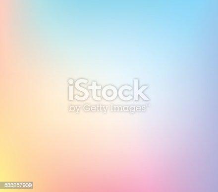 istock Pastel Defocus Multi Color Gradient Stock Vector Background 533257909