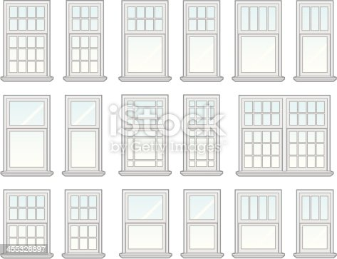 455326897 istock for Window shapes and sizes