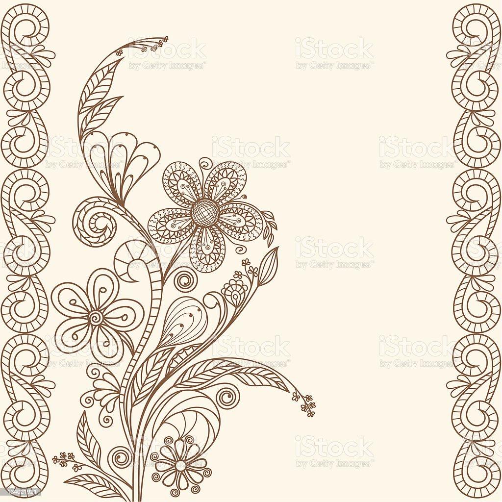 Pastel greeting card royalty-free stock vector art
