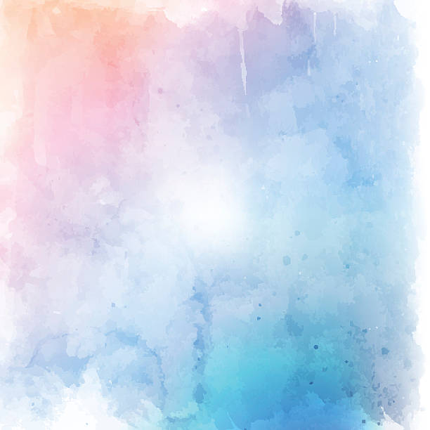 pastel grunge background - watercolor background stock illustrations, clip art, cartoons, & icons