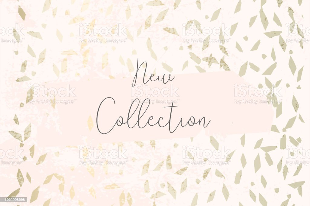 Pastel Marble Gold Old Texture Header Design Trendy Chic Background Stock Illustration Download Image Now Istock
