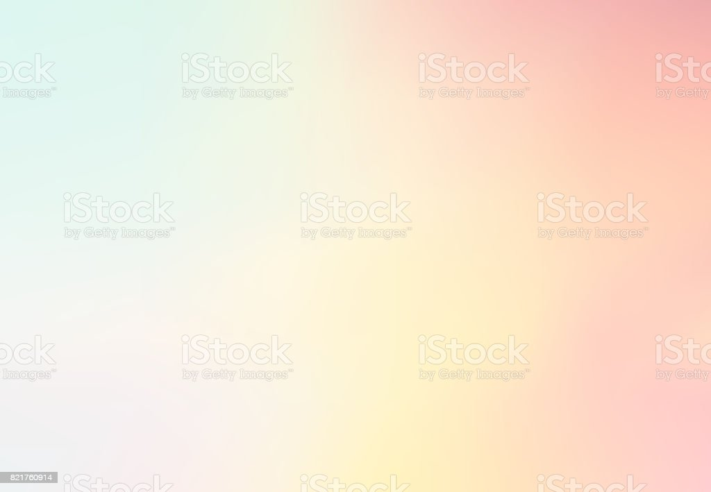 Pastel Multi Color Gradient Vector Background,Simple form and blend with copy space contemporary background graphic. vector