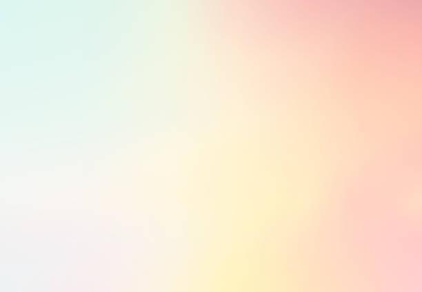 pastelowe wielokolorowe tło wektorowe gradientowe, prosta forma i mieszanka z przestrzenią kopiowania współczesnej grafiki tła. wektor - pastelowy kolor stock illustrations