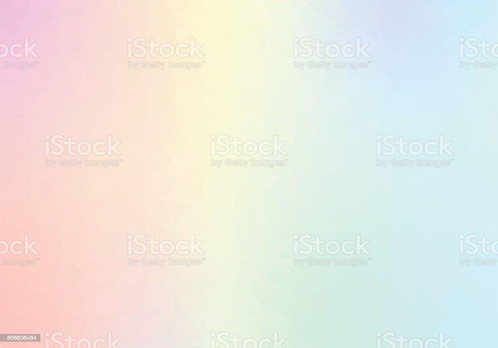 Pastel Rainbow backgrounds vector art illustration