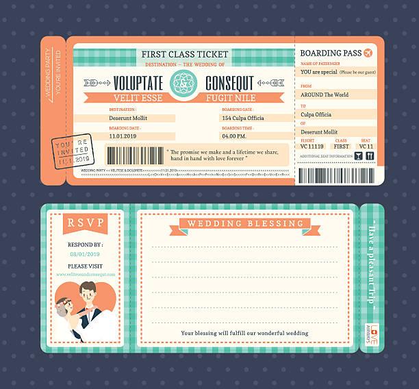 Vectores de Billete De Avión y Illustraciones Libre de Derechos - iStock