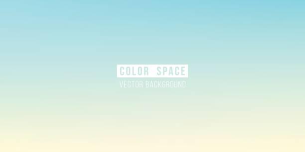 weiche pastellfarben raum unschärfe glatten farbverlauf hintergrund - pastellgelb stock-grafiken, -clipart, -cartoons und -symbole