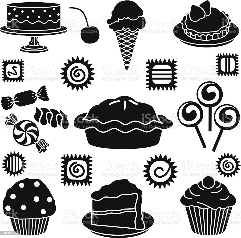 royalty free pie clipart black and white clip art vector images rh istockphoto com free black and white clipart pie cherry pie clipart black and white