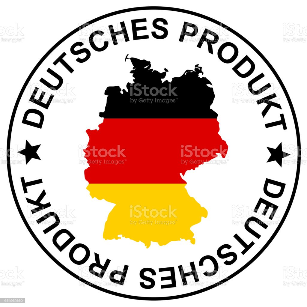 Patch German Goods Stock Vector Art More Images Of Beauty Product