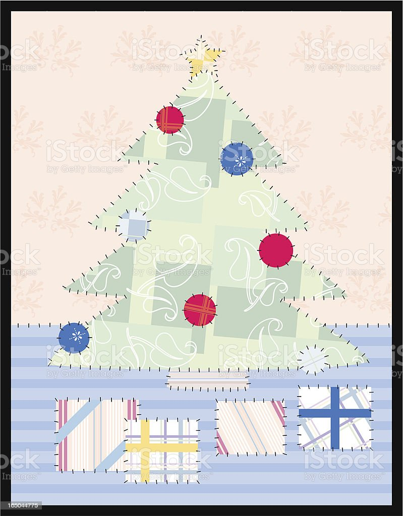 Patches - Christmas tree royalty-free patches christmas tree stock vector art & more images of celebration event