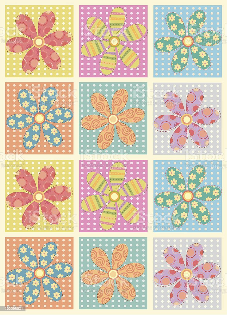 patches of flowers royalty-free patches of flowers stock vector art & more images of backgrounds